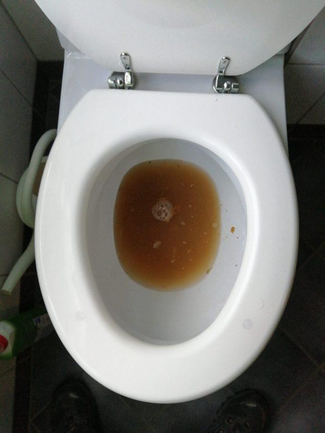 Tett toalett